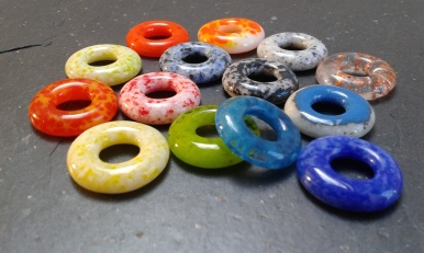 First size Ring Beads - 22mm.