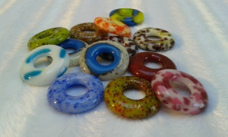 Second size Ring Beads - 30mm.
